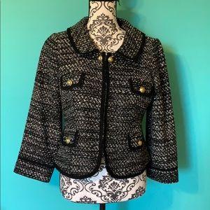 Ann Taylor LOFT Fashion Professional Clip Blazer 8